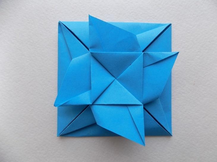 Как сделать красивый конверт из бумаги в технике оригами