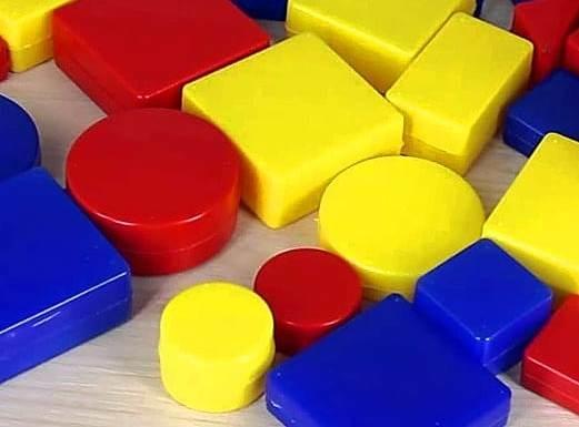 Игры с логическими блоками Дьенеша