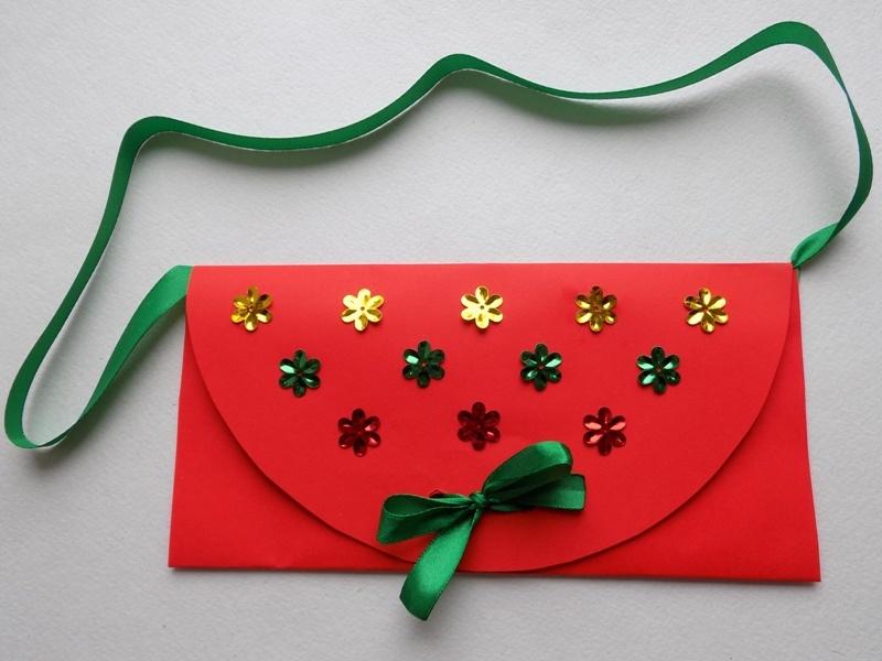 Как сделать детскую сумочку из бумаги