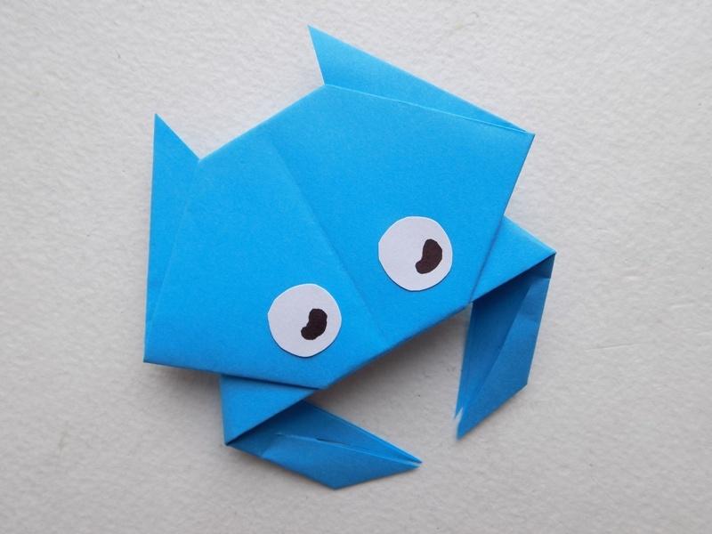 Как сделать крабика из бумаги