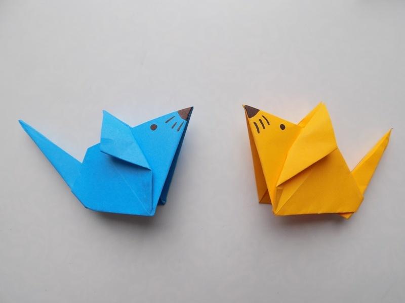 Как сделать мышку из бумаги