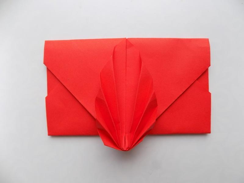 Как сделать красивый конверт из бумаги