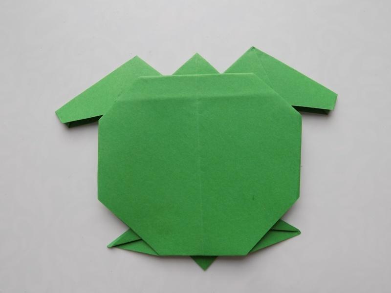 Как сделать черепаху из бумаги в технике оригами