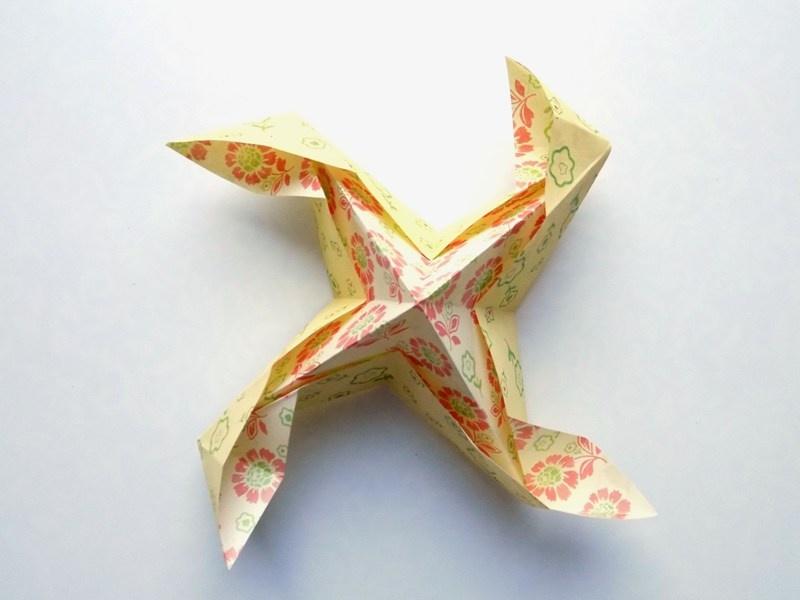 Как сделать игрушку Ветерок из бумаги