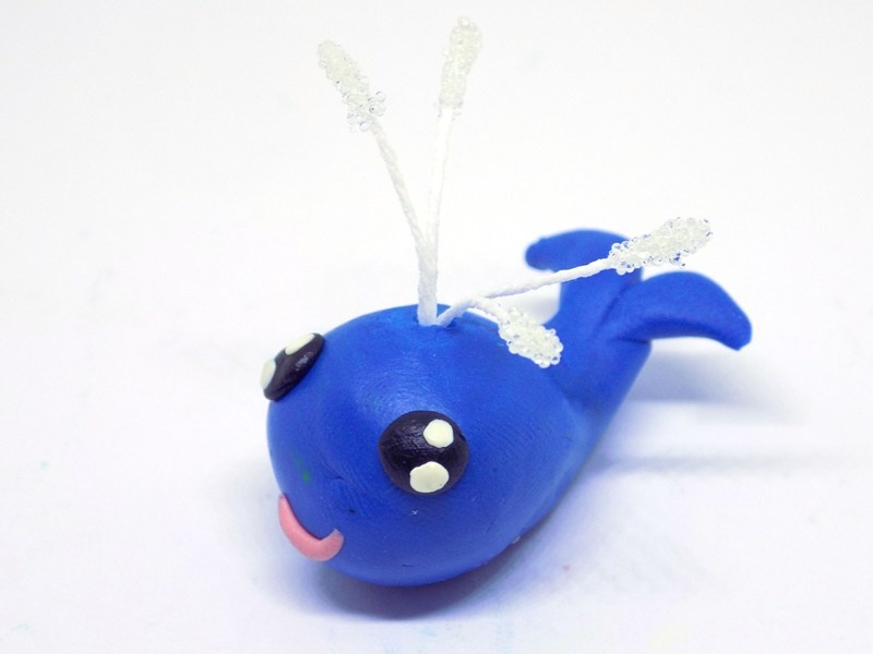 Как слепить китёнка из пластилина