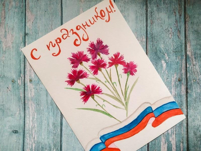 Как нарисовать скетч-открытку ко Дню защитника Отечества