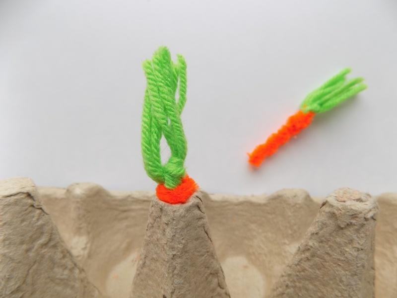 Как сделать развивающую игру Собери морковку