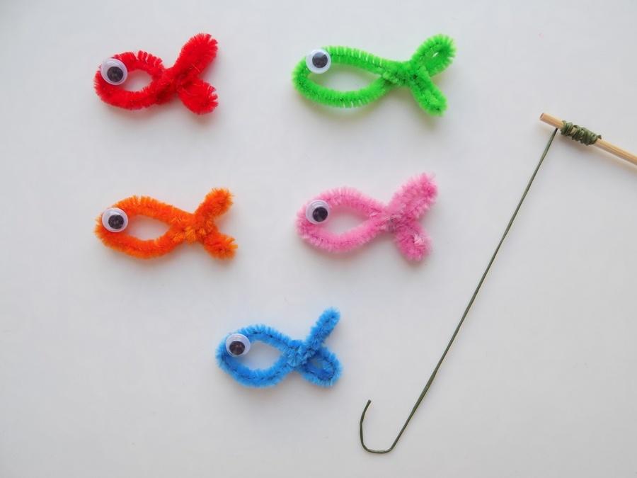 Как сделать развивающую игру «Рыбалка»