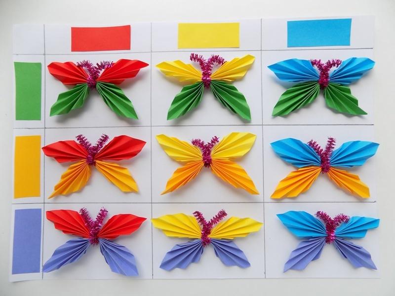Развивающая игра «Изучаем цвета с бабочками»