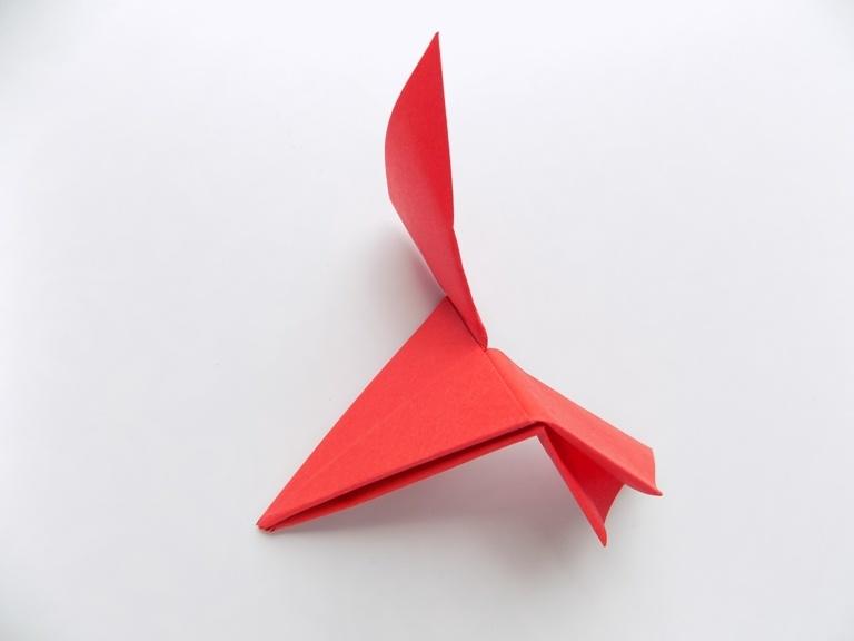 Как сделать летающий пропеллер из бумаги