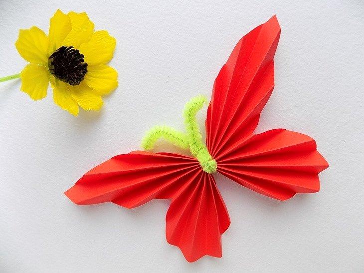 1040.970 Как сделать бабочку из бумаги: красивые, цветные, объемные, трафарет, схемы, шаблоны для печати и вырезания