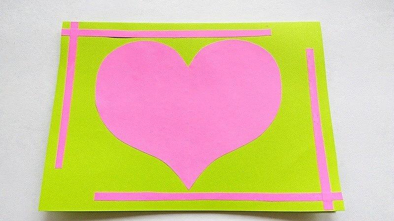 Волшебная открытка валентинка, открытки