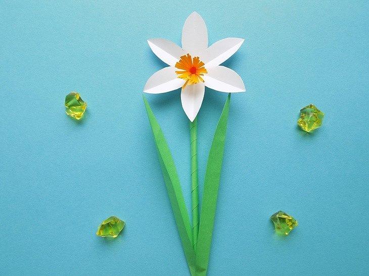Нарцисс из фоамирана: 5 мастер-классов с цветами (фото)