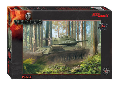 Пазл 260 дет. World of Tanks